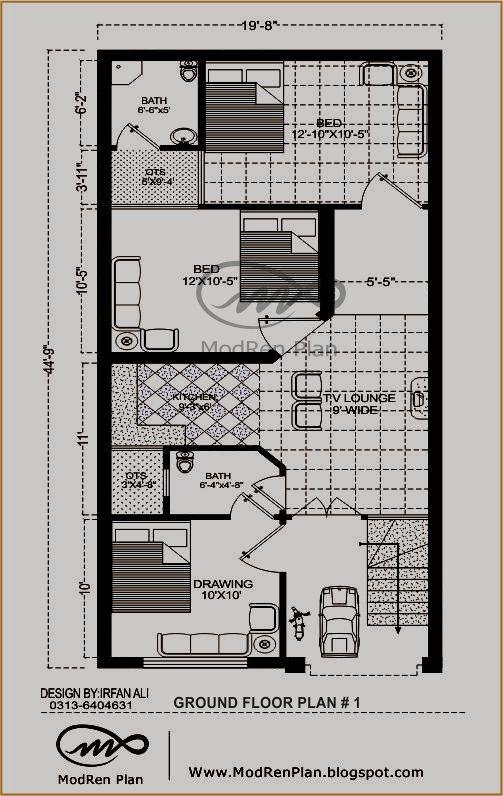 Home Design Plans Map