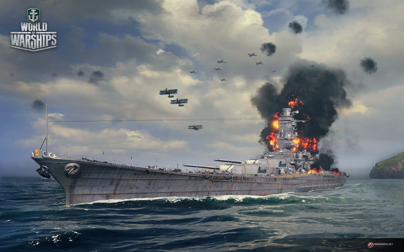 World Of Warships Game Download Online Multiplayer Naval Game About Battleships World Of Warships World Of Warships Wallpaper Warship Games Warship