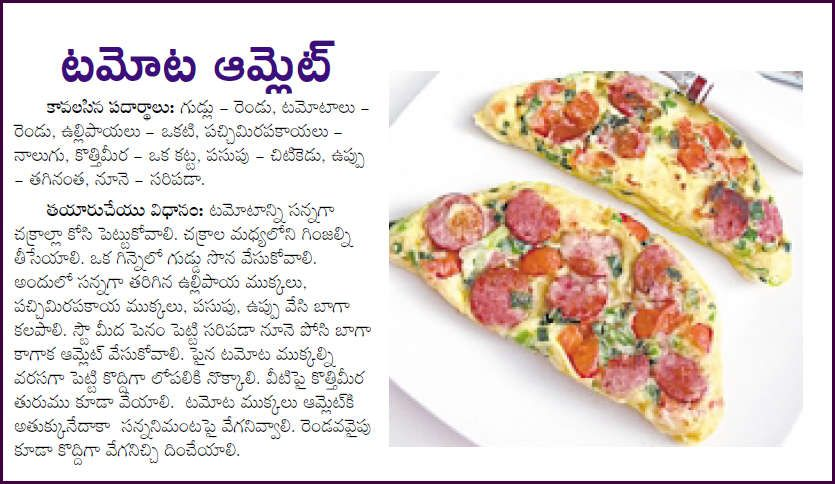 All telangana recipes special tomato eggs onion capsicum amlet all telangana recipes special tomato eggs onion capsicum amlet telugu re forumfinder Images