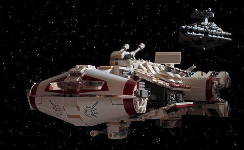 Tantive Iv Blockage Runner Starwars Star Wars Episode 4 Lego Star Wars Star Wars Universe