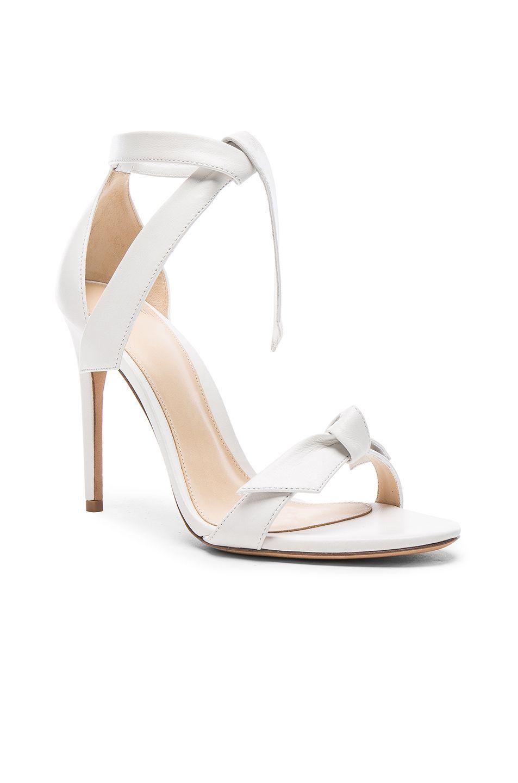 Alexandre Birman Clarita Heels in White
