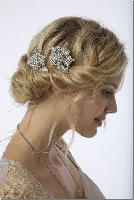 Vintage Bridesmaids Hairstyle Http Fuupon