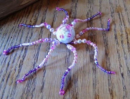 Beaded Octopus by PurpleDreamDesign
