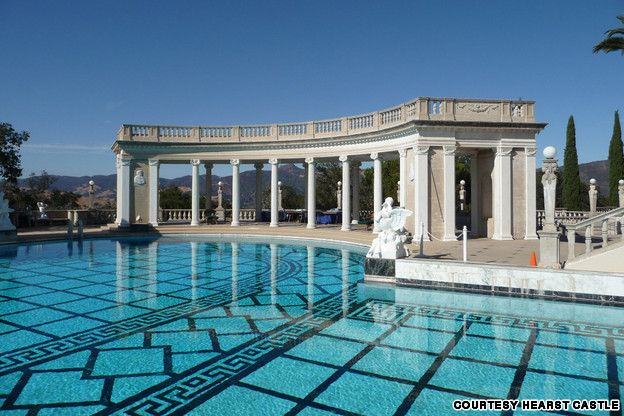 hearst castle san simeon california united states from the worlds 15 most - World S Most Amazing Swimming Pools