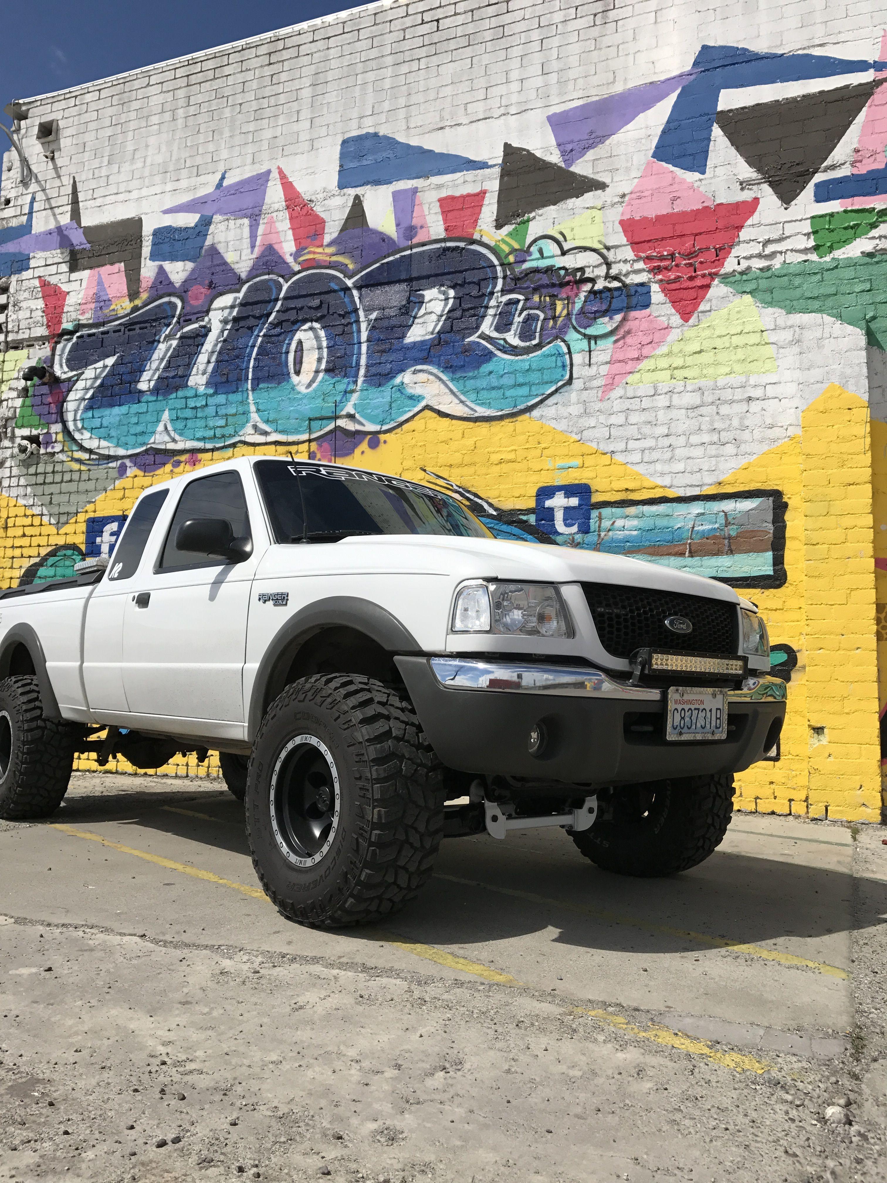 2001 Superlifted Ford Ranger Pickup Trucks Ford Ranger Truck
