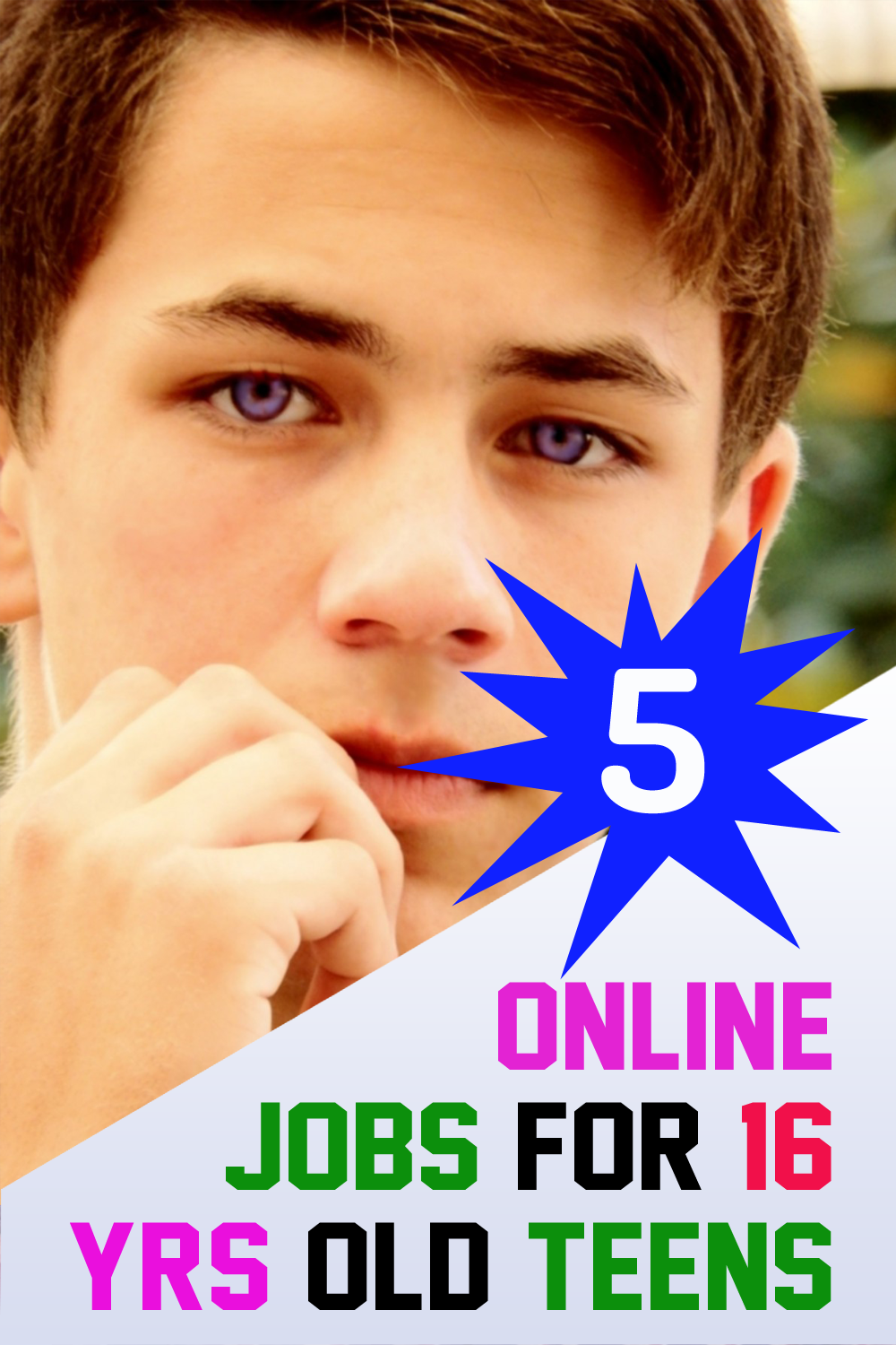 5 Best Online Jobs For 16 Year Olds Teenager Make 100 A Day In 2020 Online Jobs Best Online Jobs Jobs For Teens