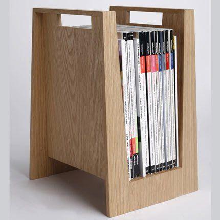 Porterevues En Bois Massif XL Bloom Organizations And Interiors - Porte magazine