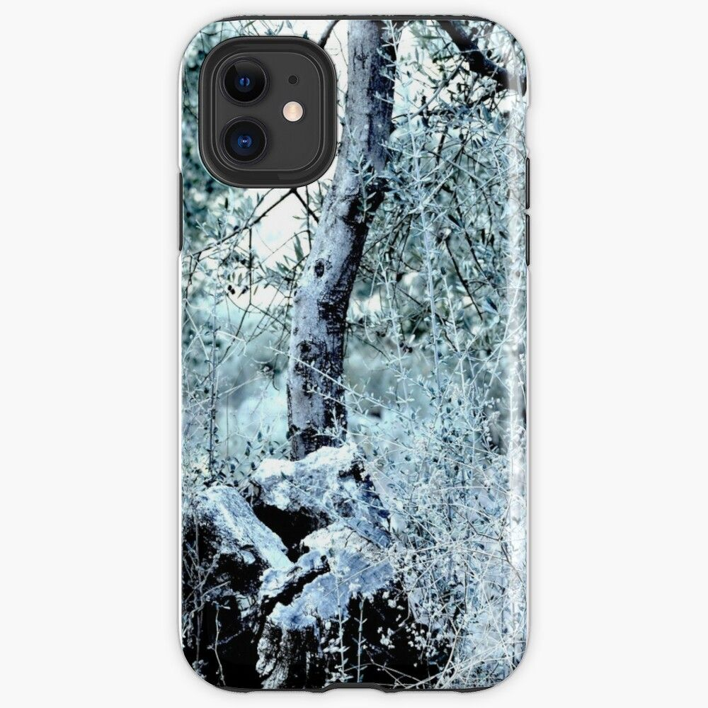 Kaleidoscope therapy autumn nature iphone case by