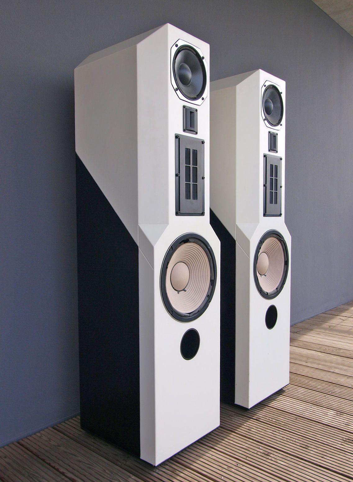 lautsprecher acr isostatic rp300 lack weiss schwarz in tv video audio heim audio hifi. Black Bedroom Furniture Sets. Home Design Ideas