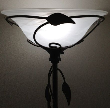 15 5 Alabaster Frost Swirls Torchiere Lamp Shade 6 H Lamp Torchiere Lamp Shade Torchiere Lamp