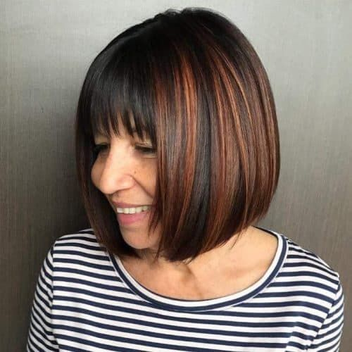24 Classy Bob Haircuts for Older Women (2021 Trend
