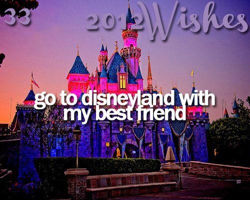 Next summer (sadly 2013) we will go to Anaheim