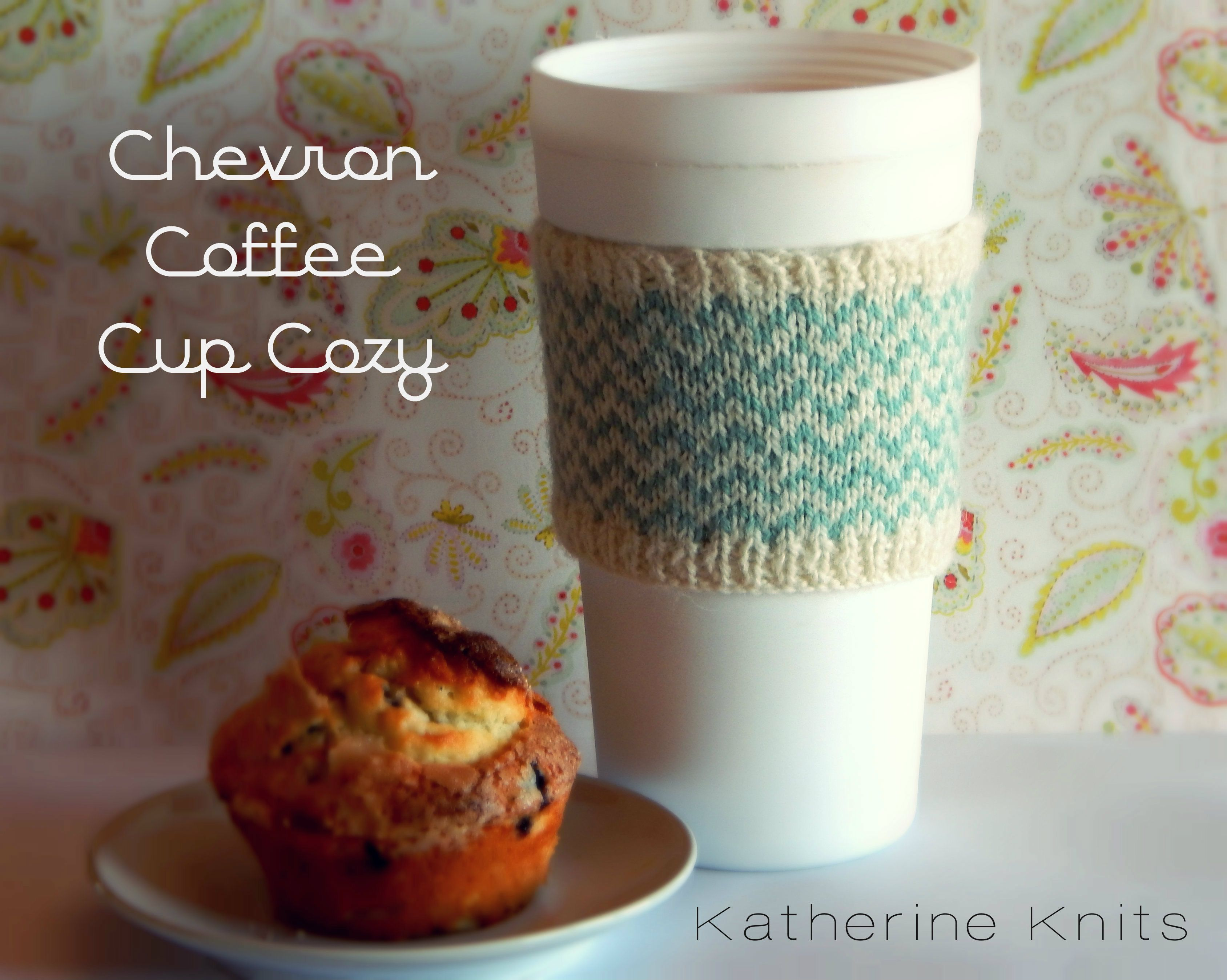Chevron Coffee Cup Cozy Free Pattern Coffee Cup Cozy Coffee Cup