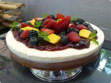 Cheesecake-tropical