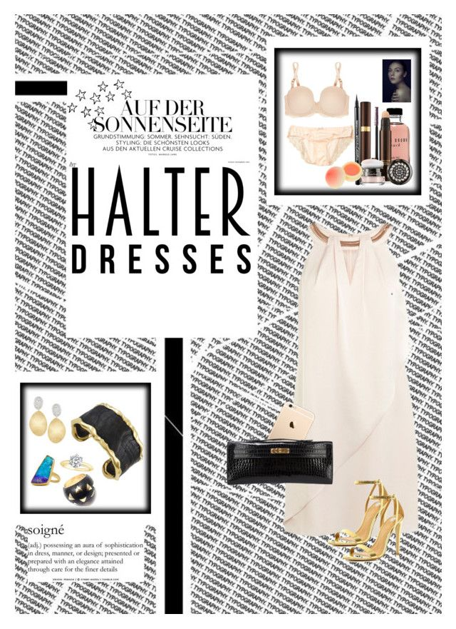"""""""Date Night : Shoulder Show"""" by katieparker3 on Polyvore featuring Tom Ford, Bobbi Brown Cosmetics, STELLA McCARTNEY, Guerlain, Coast, River Island, Tiffany & Co., Van Cleef & Arpels, Hermès and Pippa Small"""