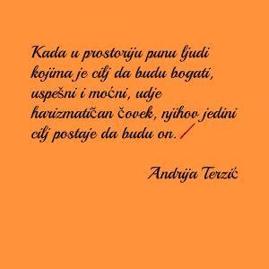Citati Andrije Terzić Quotes By Andrija Terzic