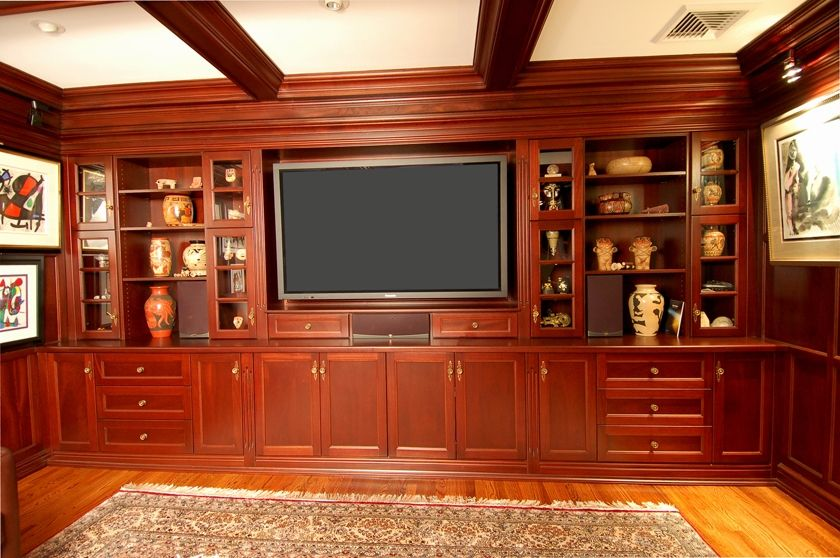 Built in Entertainment Wall Units | Do you want to work with Z Carpentry Inc. on an existing project?