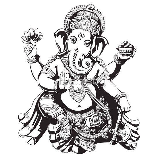 Pin By Jayar On Tatuajes Plan Ganesha Tattoo Ganesha Art Ganesh