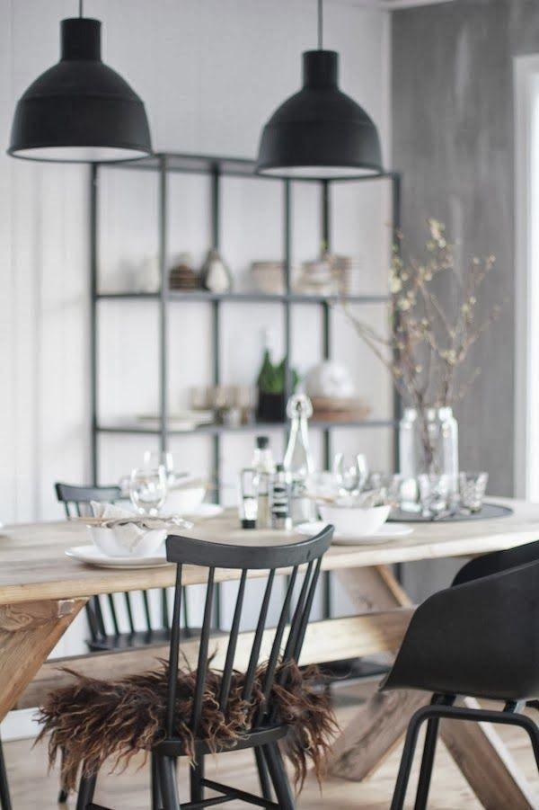 Cuisine bois et noir Vosges Paris via Nat et nature
