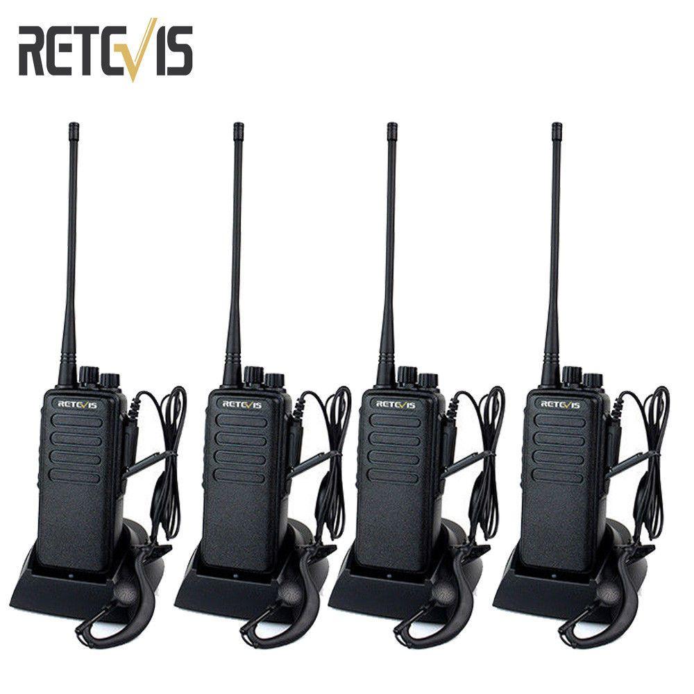 RETEVIS RT1 Walkie Talkie 10W VHF136-174MHz Scrambler FM Two Way Radio dustproof
