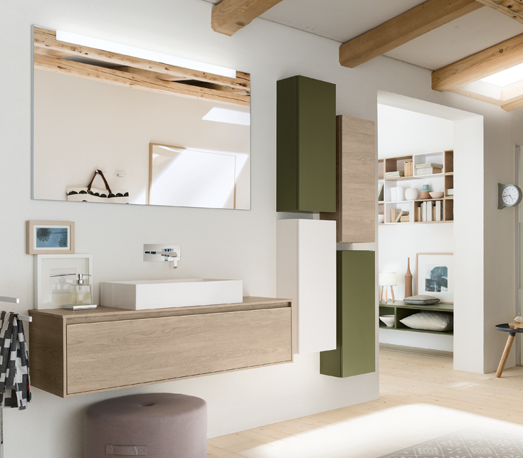 Badkamermeubel Meuble Salle De Bains Inda Perfetto Plus Badkamer Ontwerp Design Badkamer Badkamer Inrichting
