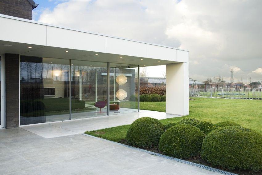 Moderne glasshouse met aluminium constructie de mooiste
