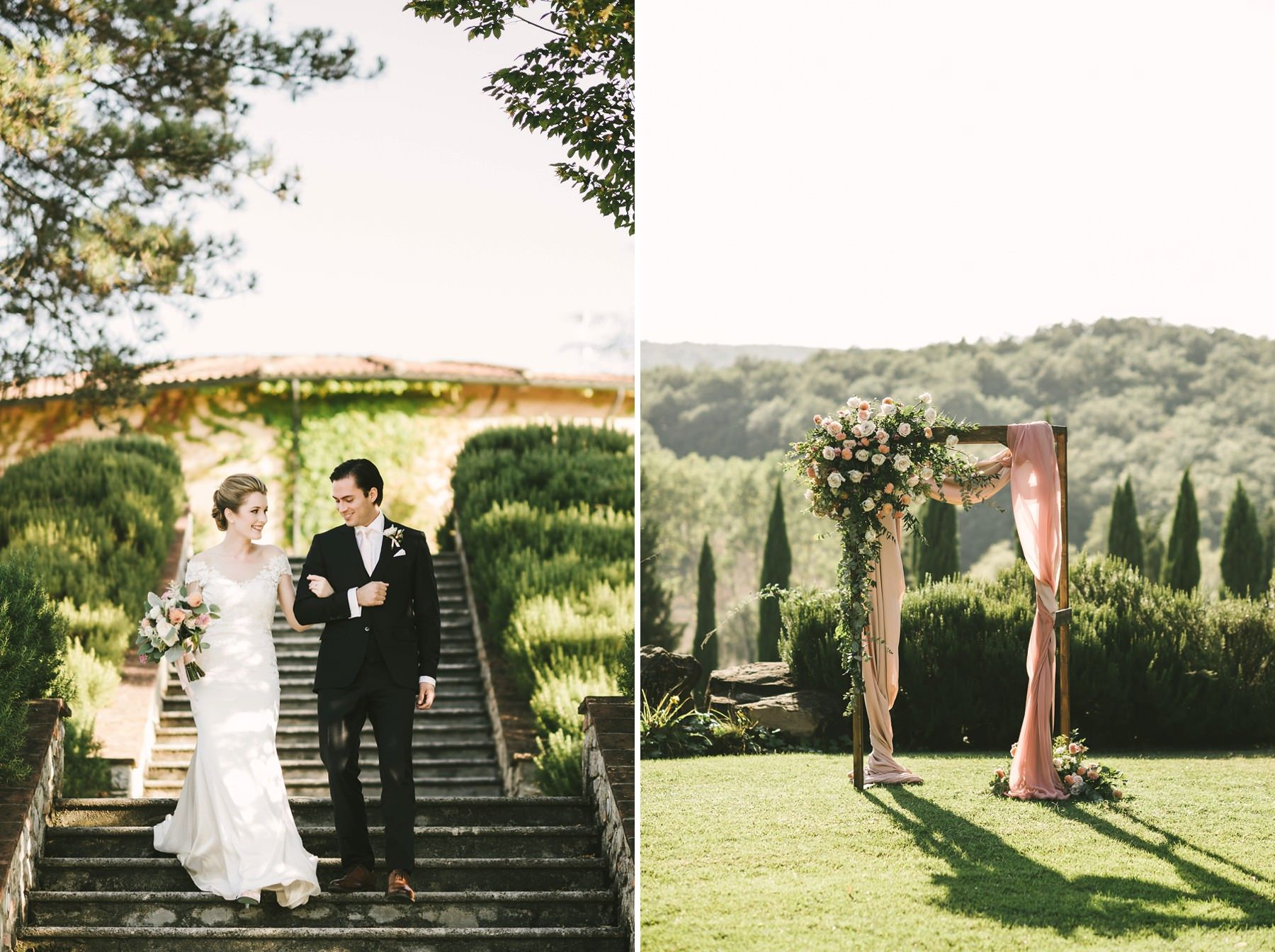 A Wonderful Elopement In Italy Wedding For Two At Villa La Selva Wine Resort Italy Wedding Elope Wedding Tuscany Wedding
