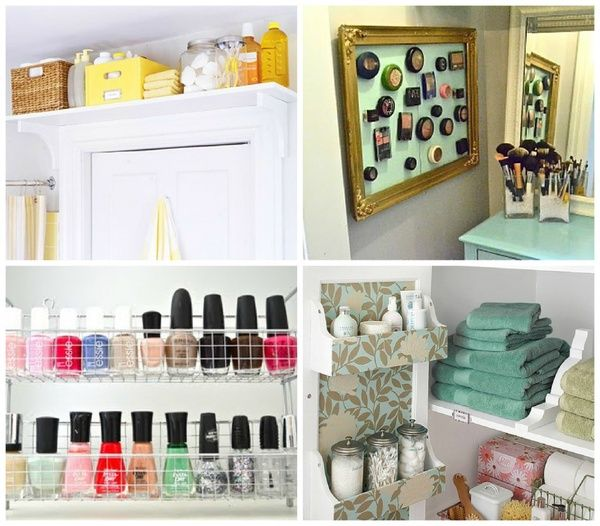How to maximize your space in small bathrooms. Organizing tips and ...