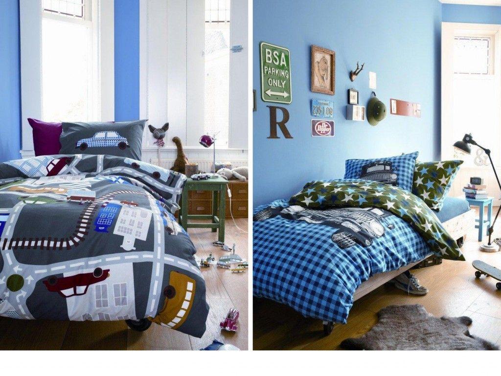 Beddinghouse dekbedovertrek dekbedovertrek auto 39 s via slaapkamer kids - Slaapkamer autos ...