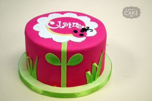 cute ladybug cake Sammies 1st Bday party Ideas Pinterest