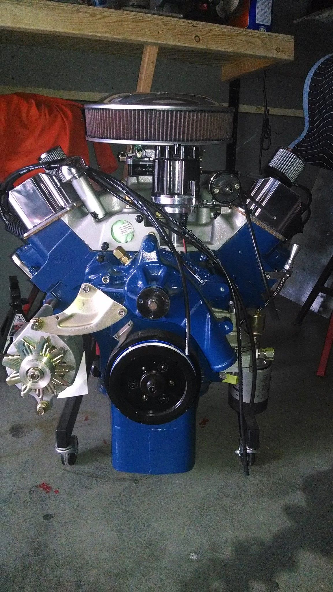 Ford 428 FE | Dream Garage | Mustang engine, Ford v8, Ford