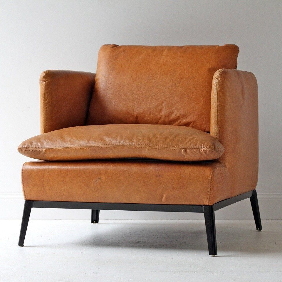 Best Lewis Classic Leather Chair Cognac Rocking Chair Porch 400 x 300