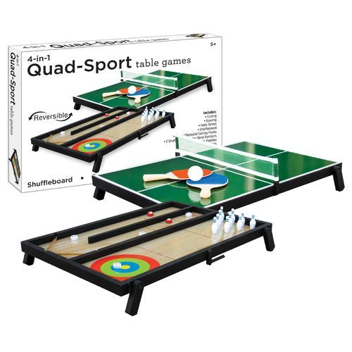 Westminster 4 In 1 Quad Sport Table Games Table Games Games