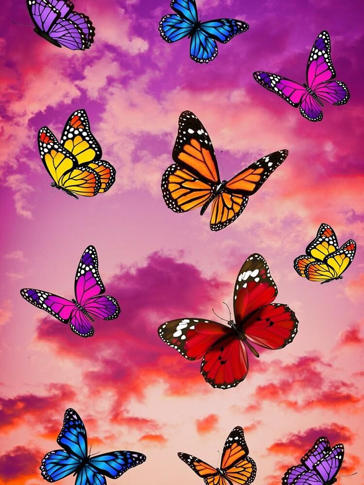 Butterflies In Sky Iphone 11 Soft By Yoacat In 2020 Butterfly Wallpaper Iphone Iphone Wallpaper Pattern Butterfly Wallpaper