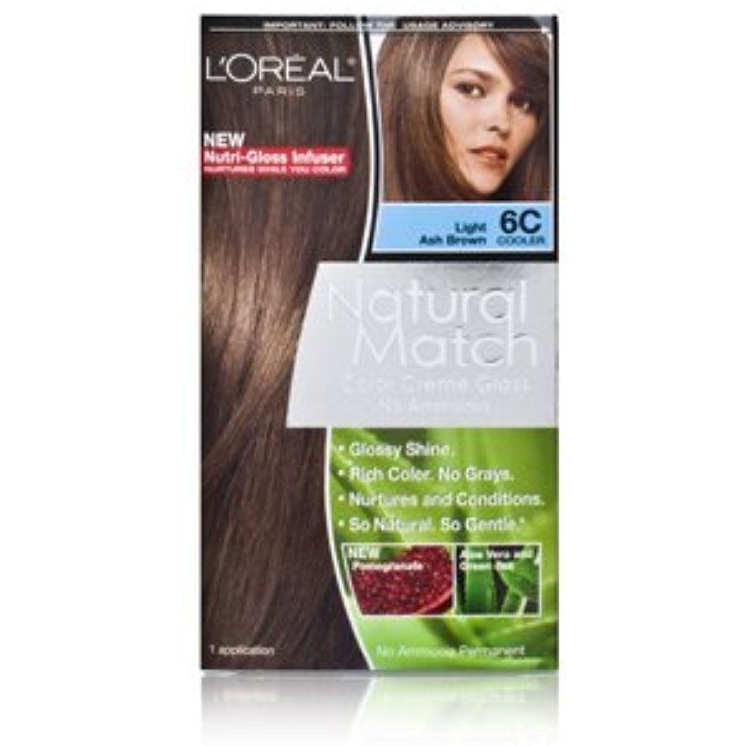Loreal Natural Match Hair Colour Light Ash Brown Click On The
