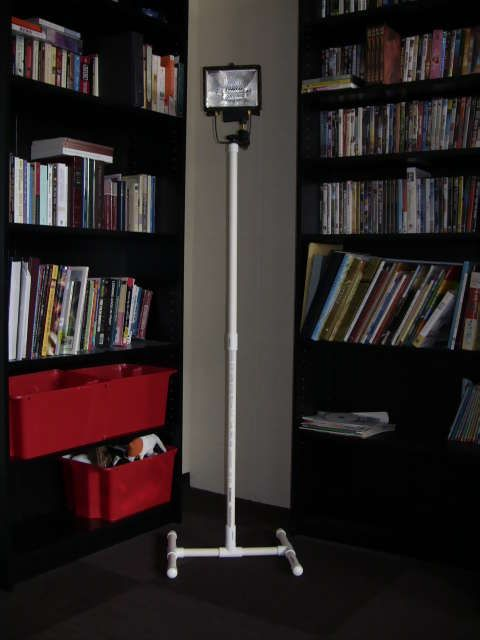 Build a Versatile PVC Light Stand for Under $5 | Diy video ...