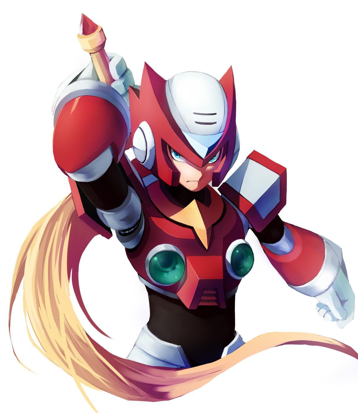 Zero (Megaman X) Dibujos de juegos, Personajes de