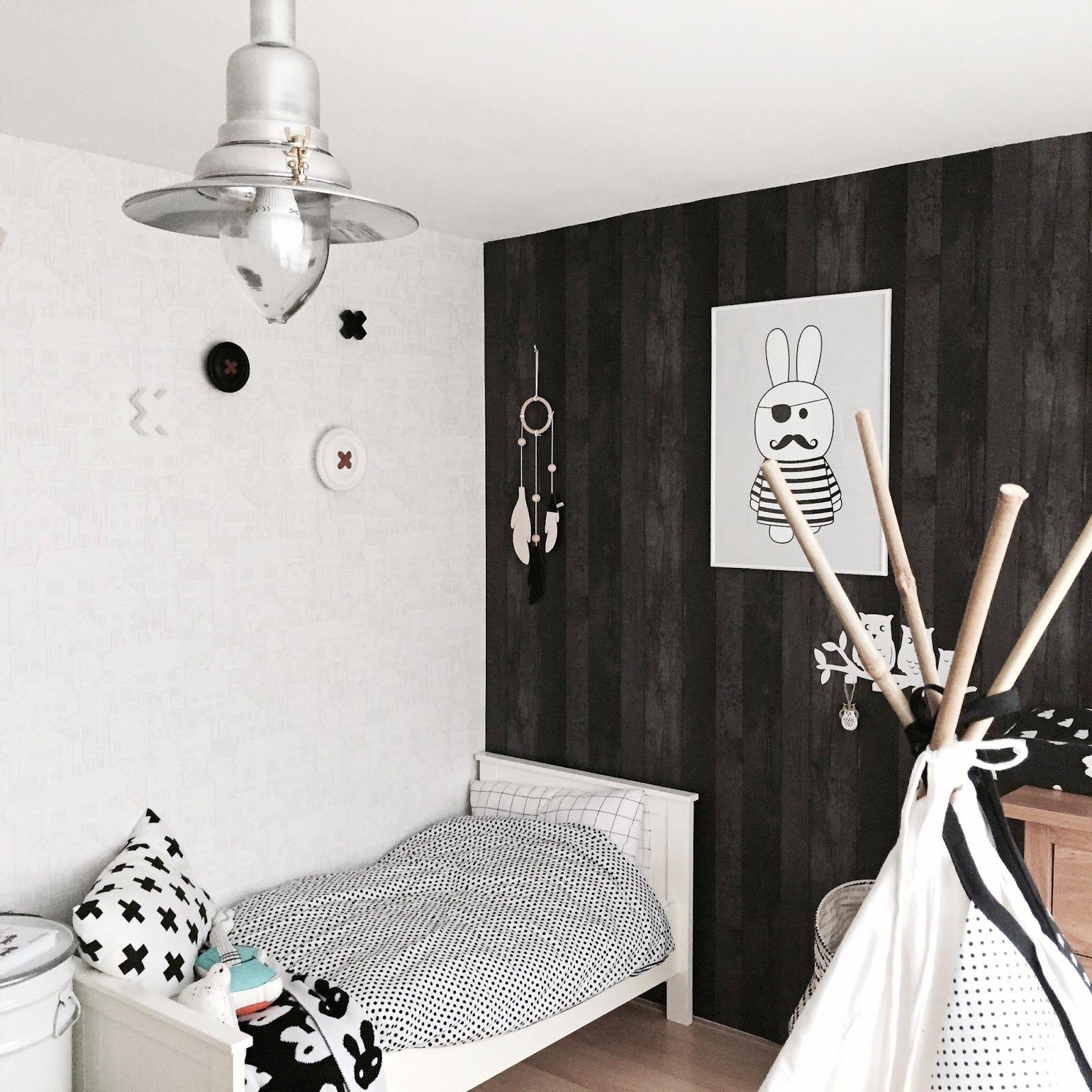 Monochrome Kidsroom Black White Toddler Ikea HK Living VT