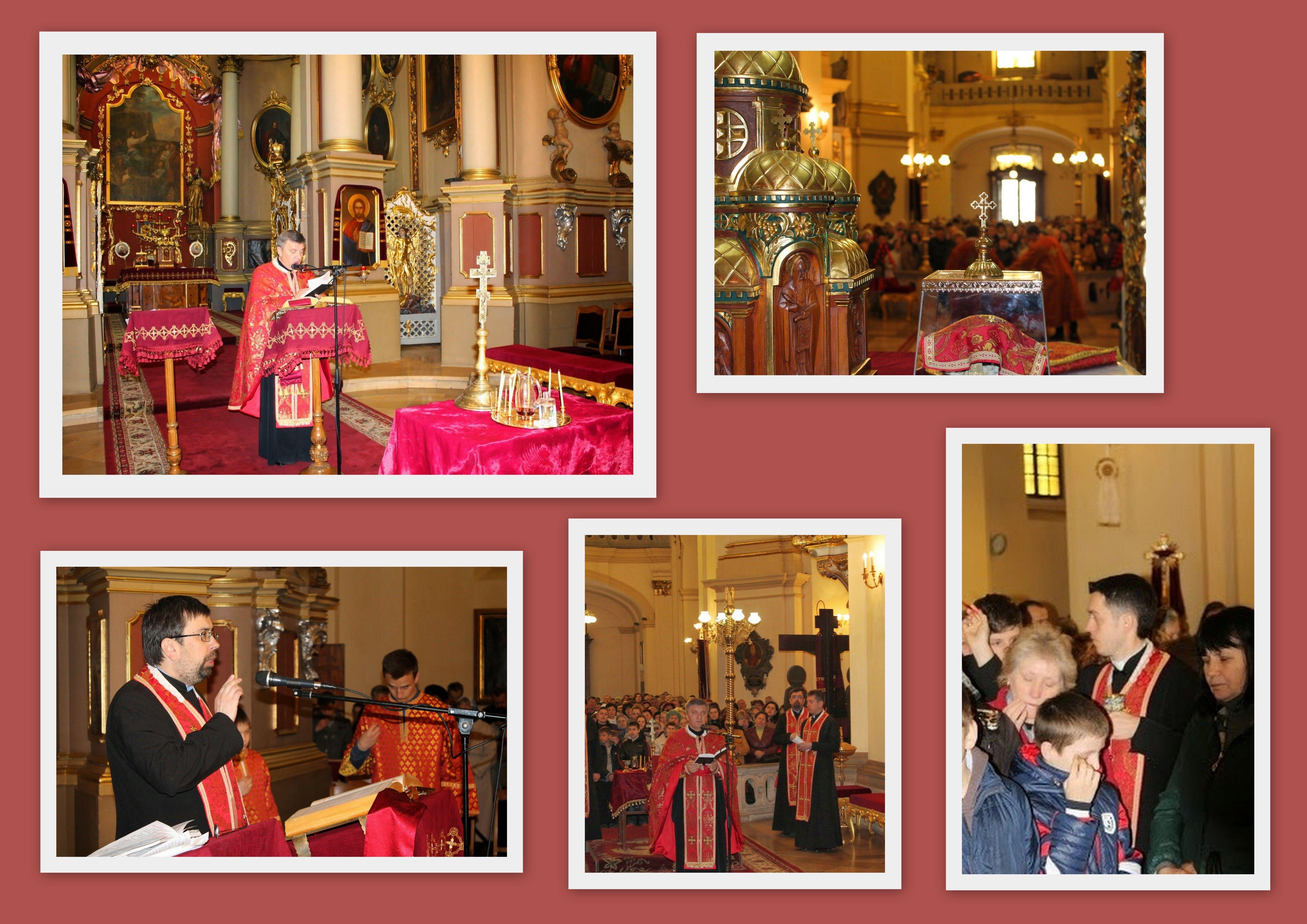 В Архикатедральному Соборі св. Юра звершать Соборне Таїнство Єлеопомазання