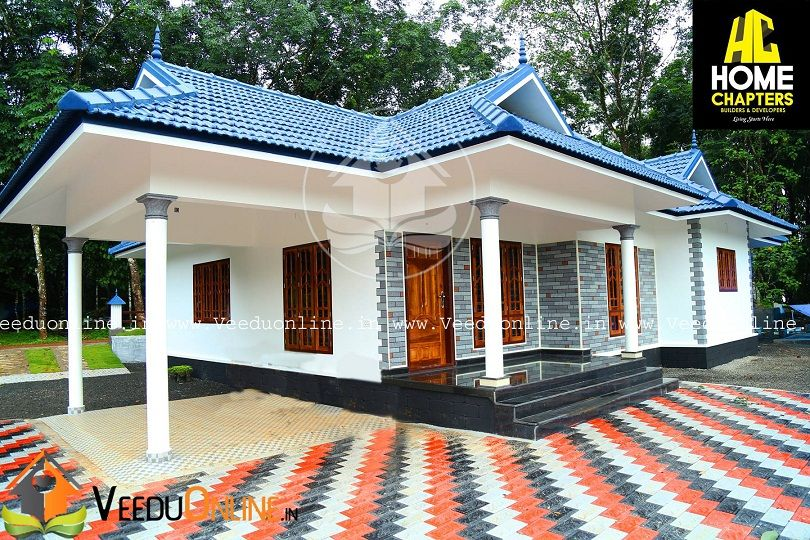 1700 Square Feet Single Floor Low Budget Home Design Kerala Houses Kerala House Design House Architecture Design