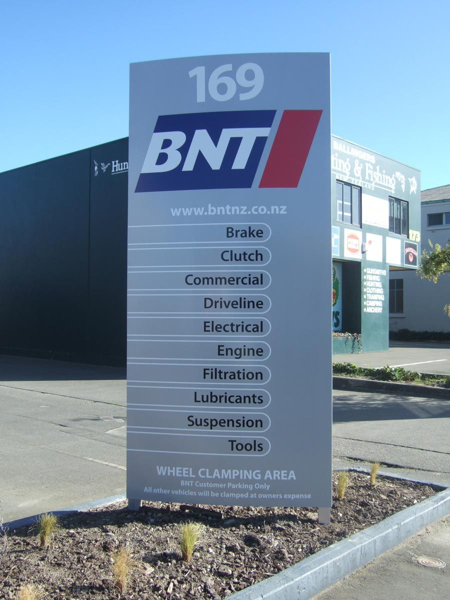 Nice Example Of A Small Pylon Sign Sign Ideas Pinterest Outdoor Business Signs