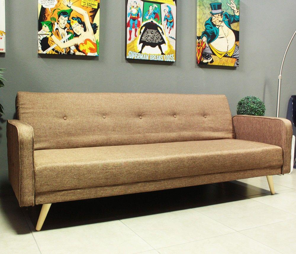 Sof cama retr decor pinterest sofas and retro for Sofa que vira beliche