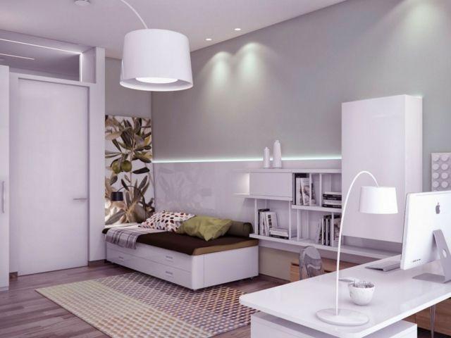 Chambre style Robin blanc pour enfant - Création chambre enfant ...