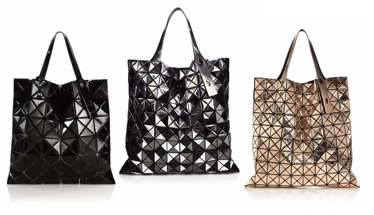 Bao Bao Issey Miyake Faux Leather Tote - Luxury Vegan Handbags - Vegan  luxury ba98641e8107b