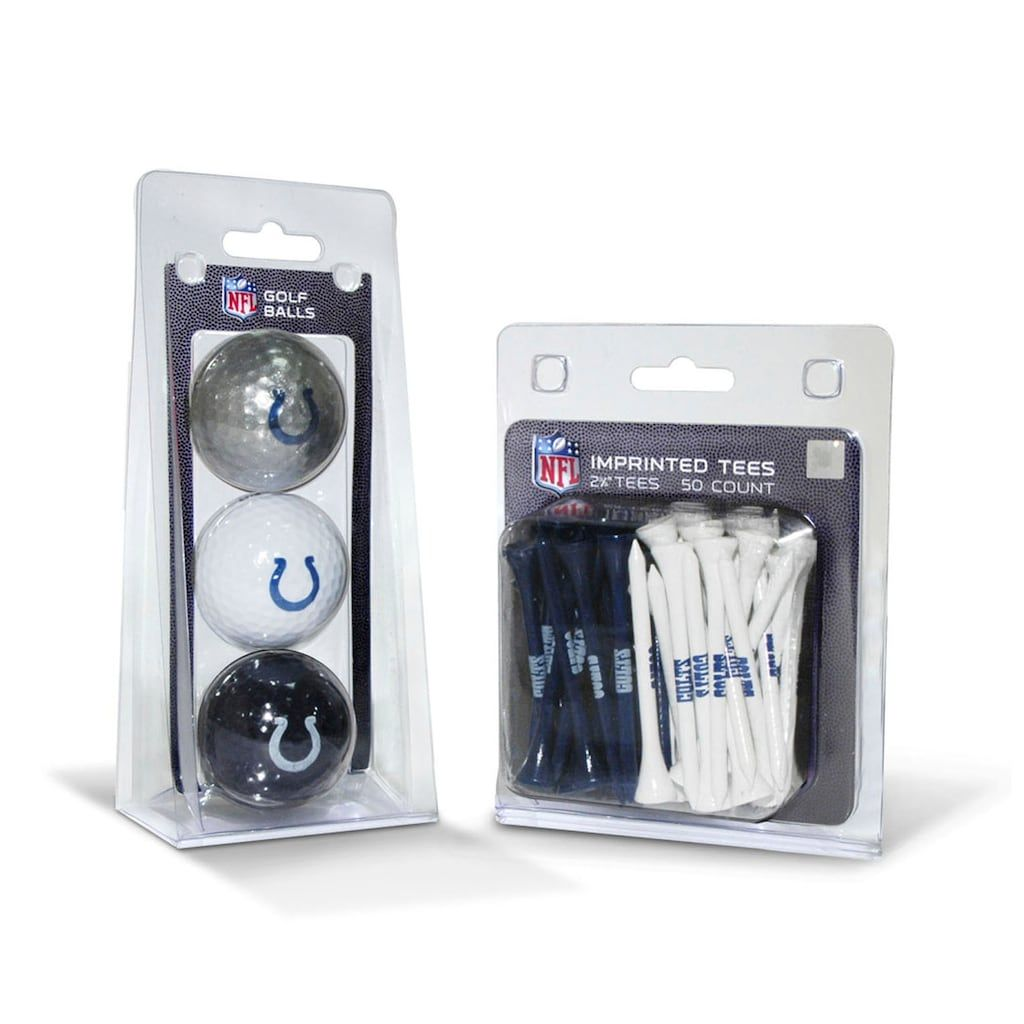 Team Golf Indianapolis Colts Ball & Tee Set Golf ball