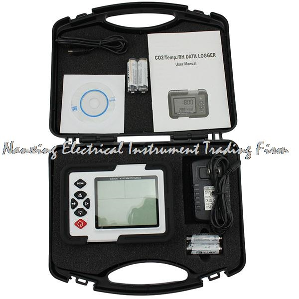 69.00$  Buy here - http://alip1h.worldwells.pw/go.php?t=32756743931 - Portable Digital CO2 Meter CO2 Monitor Detector HT-2000 Gas Analyzer 9999ppm CO2 Analyzers Temperature Relative Humidity Test