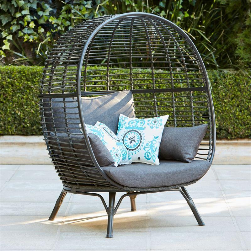 Mimosa Waiheke Resin Wicker Egg Chair, Outdoor Seating Furniture Bunnings