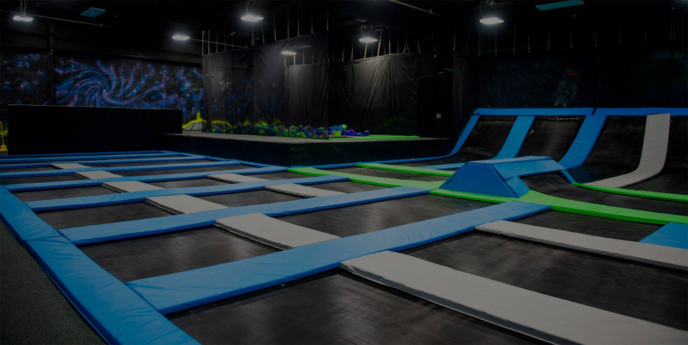 Elevate Trampoline Park In Champaign Is The Premier Extreme Recreation Park Trampoline Park Champaign The Good Place