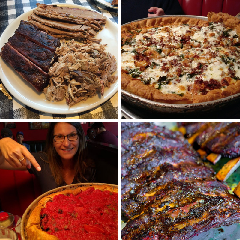 Escape The Heat Of The Kitchen This Labor Day Weekend And Let Windy City Do The Cooking Joi Good Pizza Chicago Style Deep Dish Pizza Bbq Restaurant