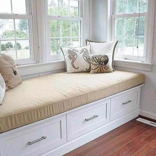 Bay Window Seat For A Lovely Addition: Exactly The Style Window Seat I Want To Install In The